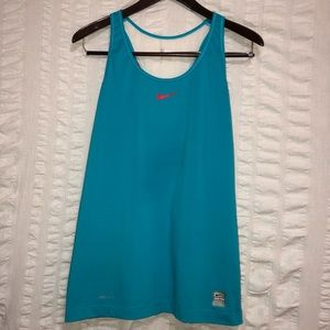 Nike Pro DriFit Color Block Tank Top